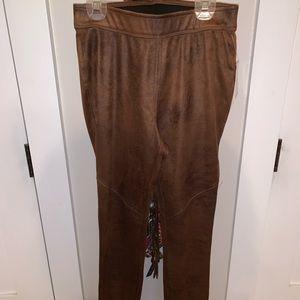free people leather leggings